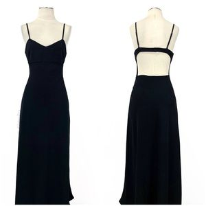 Aritzia- Wilfred Jeanie Midi Dress Black Size 8